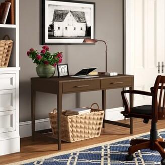 Three Posts Northampton Desk Color: Plymouth Brown Oak