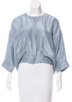 Vanessa Bruno Silk Button-Up Top