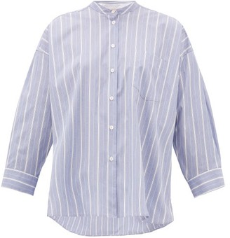 Max Mara Ovada Shirt - Womens - Blue White