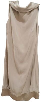 Azzaro Beige Silk Dress for Women