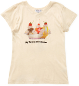 Wildfox Couture Tourist V-Neck Sundae Tee