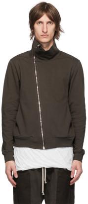 Rick Owens Brown Bauhaus Jogger Sweatshirt