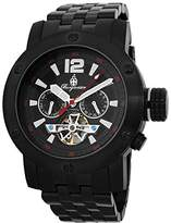 Burgmeister Men's BM329-622 Analog Display Automatic Self Wind Black Watch