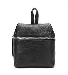 Kara Pebble Leather Small Backpack