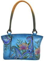 Anuschka Hand Painted Leather Large Tote