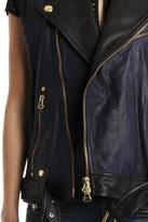Balmain Pierre Leather Vest