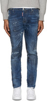 DSQUARED2 Blue Studded M.B. Jeans