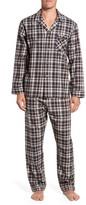 Majestic International Men's Bryson Plaid Pajama Set
