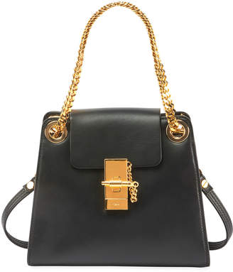 Chloé Annie Mini Smooth Shiny Shoulder Bag