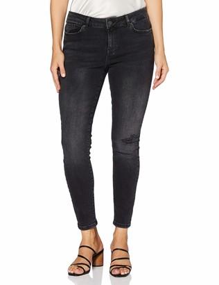 Vero Moda Women's VMHANNA MR SK DSTR Jeans BA2130
