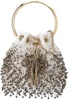 Jimmy Choo Bon Bon bead-fringed bag