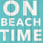 """Paper Products """"On Beach Time"""" Paper Cocktail Napkins, Set of 20"""