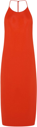 Bottega Veneta Stretch-Jersey Halterneck Dress