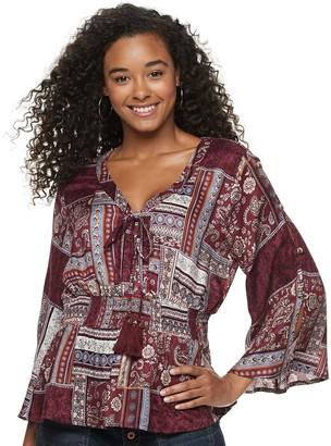 American Rag Juniors' Kimono Tunic