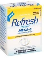 Refresh Optive Mega-3 Eye Drops Preservative Free