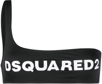 DSQUARED2 Logo Bikini Top