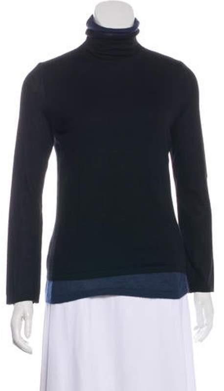 Akris Cashmere & Silk-Blend Sweater Black Cashmere & Silk-Blend Sweater