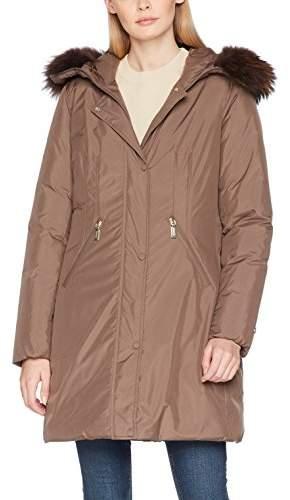 Geospirit Women's Coney Fur Sports Jacket,(Manufacturer Size: 44)