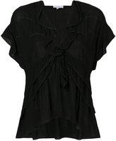 IRO drawstring blouse