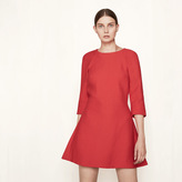 Maje Short dress with knotted details