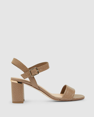 Easy Steps - Women's Brown Open Toe Heels - Uno - Size One Size, 7 at The Iconic