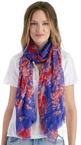 Sole Society Abstract Dye Print Scarf