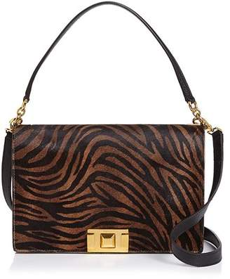 Furla Mimi Animal-Print Shoulder Bag