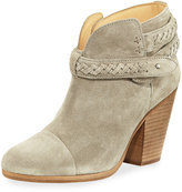 Rag & Bone Harrow Belted Suede Ankle Boot