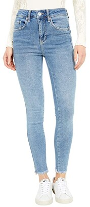 Free People Raw High-Rise Jeggings (Sierra) Women's Jeans