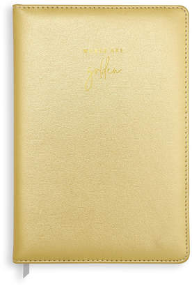 Katie Loxton - PU Notebook - Metallic Gold