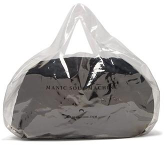 Marine Serre Logo-print Pvc Bag - Clear