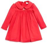 Armani Junior Armani Girls' Peter Pan Collar Jersey Dress - Sizes 1-3