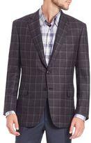 Brioni Wool Plaid Sportcoat