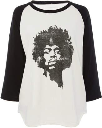 Nili Lotan Jimi Hendrix Cotton-Jersey T-Shirt