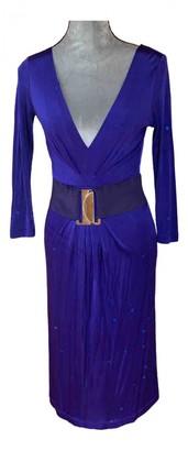 Philosophy di Alberta Ferretti Blue Dress for Women Vintage