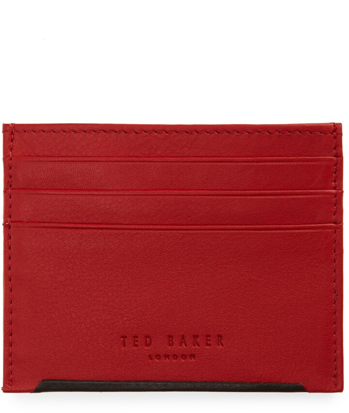 Thumbnail for your product : Ted Baker Pens Leather Card Case