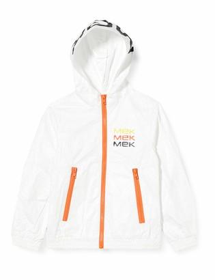 MEK Boy's Giubbino Logo Eco-Friendly Coat