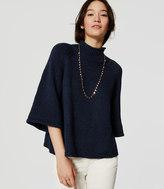 LOFT Mockneck Kimono Sweater