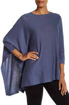 Anne Klein Draped Asymmetrical Sweater