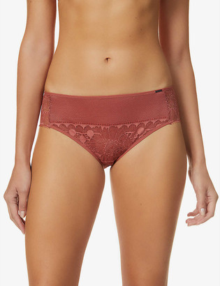 Chantelle Day to Night mid-rise stretch-woven briefs