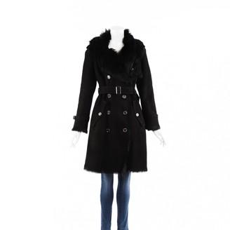 Burberry Black Suede Coats
