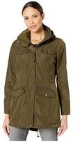 MICHAEL Michael Kors Rain Anorak M322930TZ (Black) Women's Coat