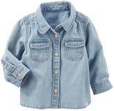 Osh Kosh Baby Girl Denim Shirt