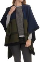 La Fiorentina Color-Blocked Knit Ruana (For Women)