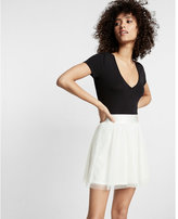 Express ballerina mini skirt