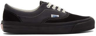 Vans Black and Grey OG Era LX Sneakers