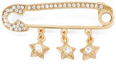 White House Black Market Star-Studded Safety Pin