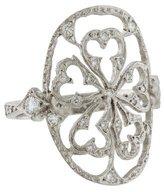 Cathy Waterman Platinum Diamond Ring