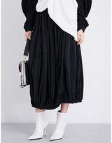 J.W.Anderson Pleated crepe skirt