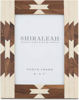 """Shiraleah 5"""" x 7"""" Picture Frame with Navajo-Inspired Inlay"""